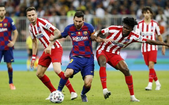 La Liga Barcelona x Atlético