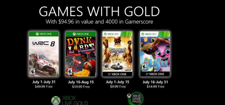 Saints Row 2 é o grande destaque doGames With Gold
