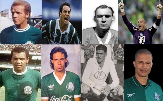 Lendas do Palmeiras (Fotos: Divulgação/ Montagem: Adriano Oliveira)