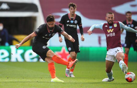 Chelsea vence Aston Villa de virada