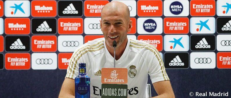Zidane coletiva Real Madrid