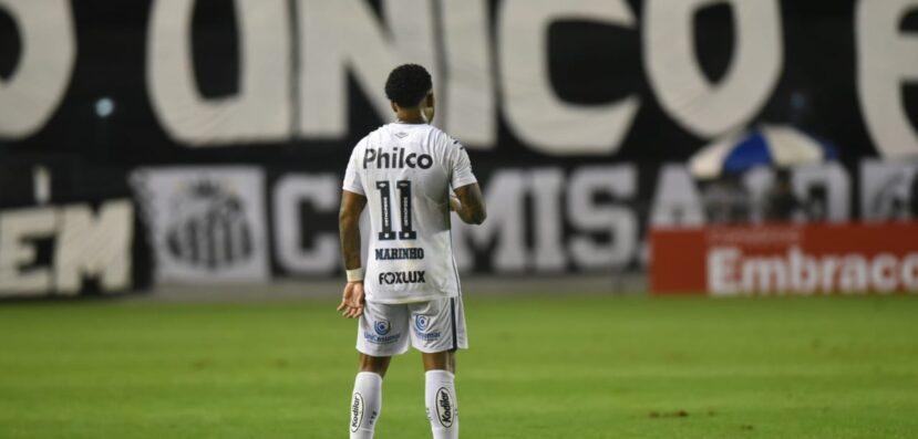Corinthians apoia Santos em nota contra o racismo sofrido por Marinho