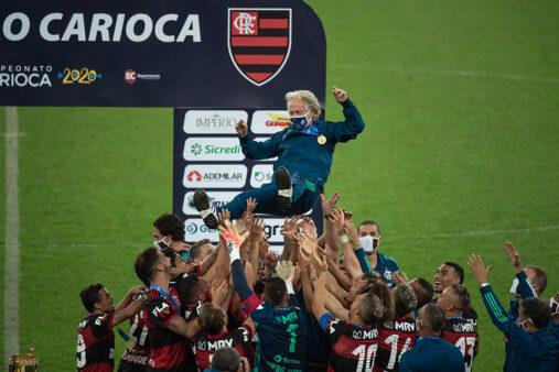Jorge Jesus deixou o Flamengo,