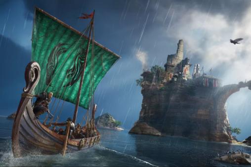 A demo apresenta combates terrestres e marítimos deAssassin's Creed: Valhalla