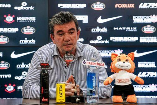 Andrés Sanchez é o presidente do Corinthians