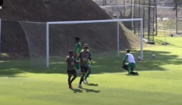 Atlético x América-MG gols