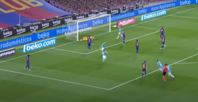 Barcelona x Osasuna gols