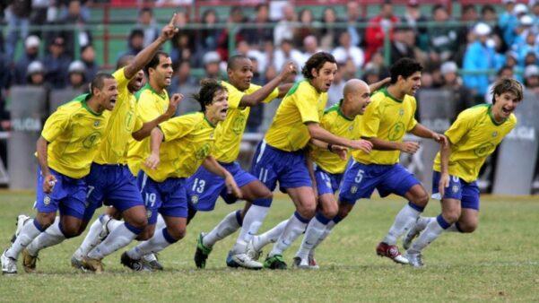 Copa América 2004 Brasil x Argentina