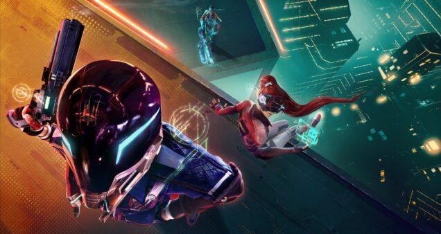 Hyper Scape éum jogo futurístico desenvolvido pela Ubisoft