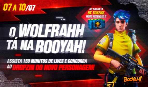 Os jogadores precisam assistir 150 minutos de livesnaBOOYAH!