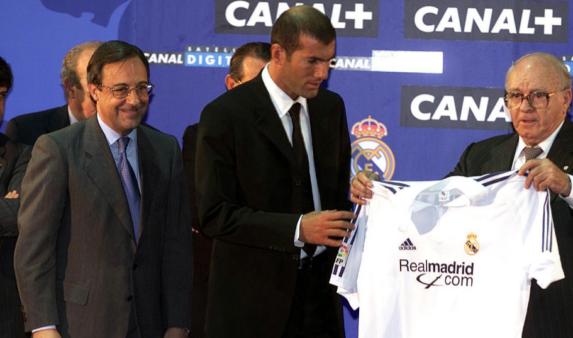 Real Madrid Zidane 2001