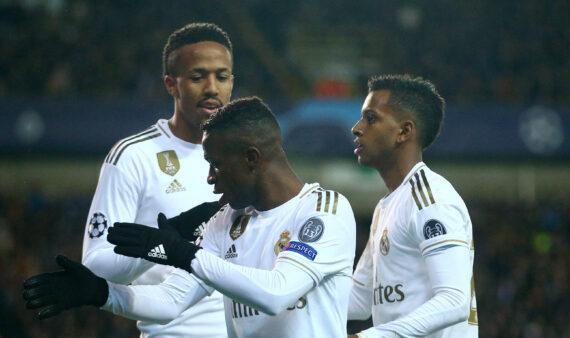 Vinicius Jr, ex-Flamengo, Rodrygo e Militão no Real Madrid