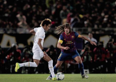 Santos x Barcelona - Neymar