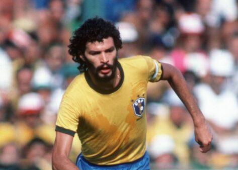 Sócrates Brasil x Itália 1982 Copa do Mundo