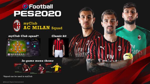 Milan e Inter de Milão devem apresentar nomes e jogadores fictícios noeFootball PES 2021