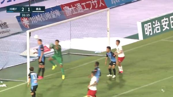 Leandro Damião marcou gol contra no Japão.