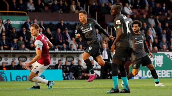 Burnley x Liverpool (Reprodução/ Site oficial Premier League/ premierleague.com)