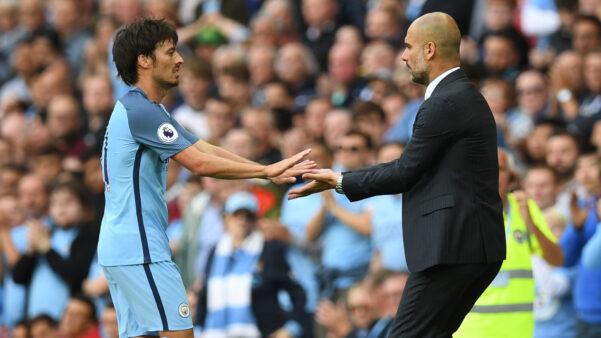 David Silva em ação pelo Manchester City