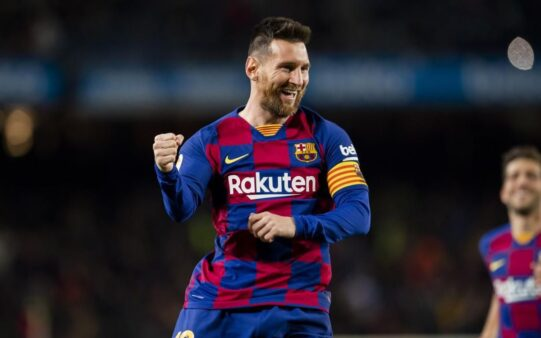 Messi ficou no Barça.