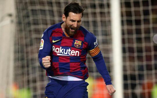 Messi está no Barcelona desde 2003