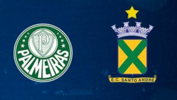 Palmeiras x Santo André assistir AO VIVO
