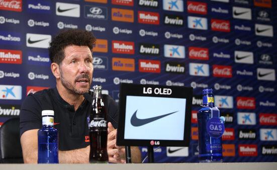 Simeone fala que já perderam uma Champions por três miniutsos