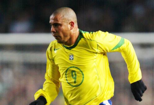 ronaldo seleção brasileira cbf camisa 9