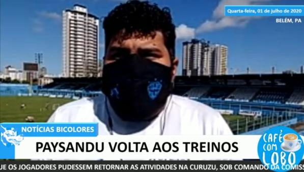 Ronaldo Santos, funcionário do Paysandu