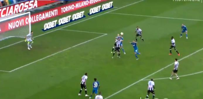 Udinese x Juventus gols