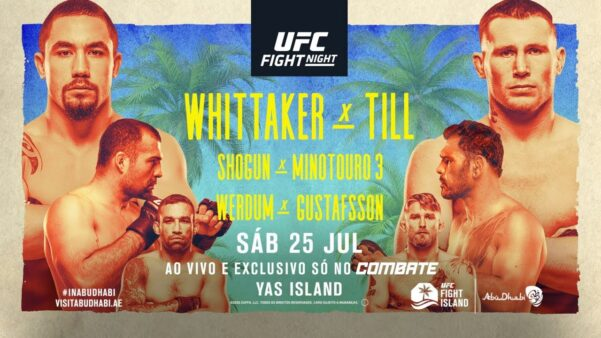 Assistir UFC Fight Island 3 AO VIVO
