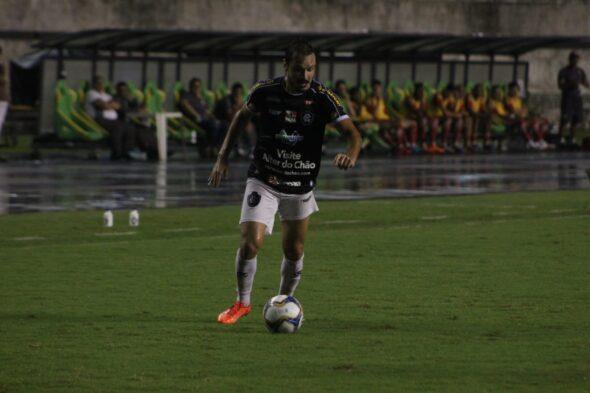 Yuri Naves, jogador de futebol rescindiu contrato com o Mais Querido – imagem: Samara Miranda/ascom Remo