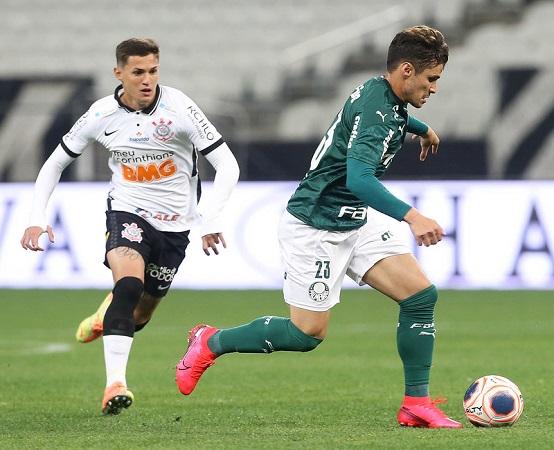No último dérbi, também disputado na Arena em Itaquera, o Corinthians venceu o Palmeiras por 1 x 0 (Foto: Cesar Greco/ Flickr oficial SE Palmeiras)