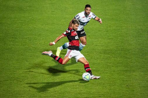 Arrascaeta garantiu vitória do Brasleirão.