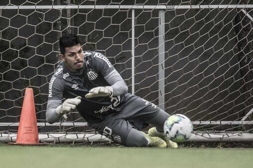 João Paulo, do Santos (Foto: Ivan Storti/ Reprodução/ Flickr oficial do Santos FC)