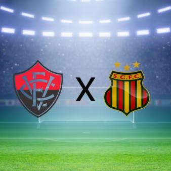 Vitória x Sampaio Corrêa: como assistir ao Brasileirão Série B AO VIVO
