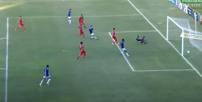 CRB x Cruzeiro gols