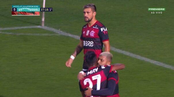 Arrascaeta no Flamengo