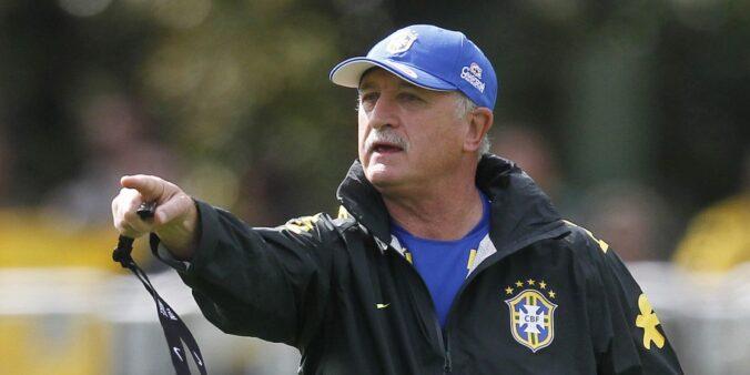 Felipão trabalhou no Brasil e foi ligado ao Flamengo.