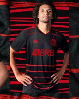 Flamengo lançou novo uniforme.