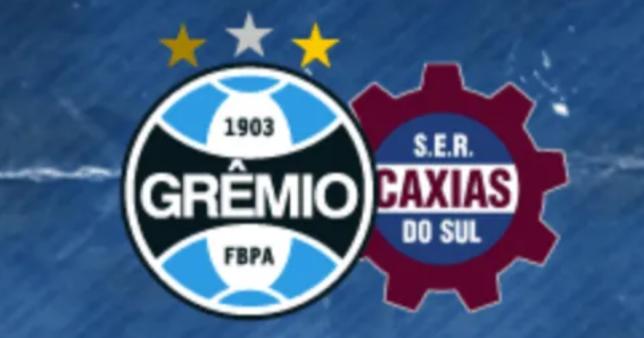 Grêmio x Caxias ao vivo