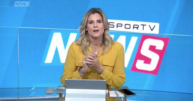 SporTV, Janaína Xavier, Globo