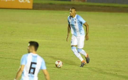 Jeferson Silva, zagueiro do Londrina (Foto: Gustavo Oliveira/ Londrina EC)