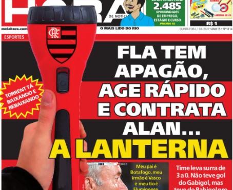 Após derrota, rivais zoam Flamengo por ser lanterna do ...
