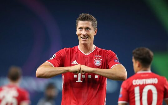Lewandowski - The Best Mundial champions league mercado da bola