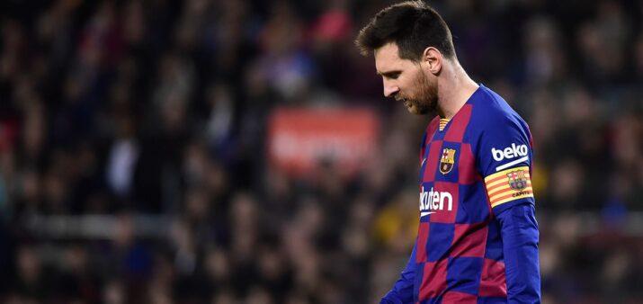 Por decisão do técnico, Messi não é relacionado para jogo da Liga dos Campeões