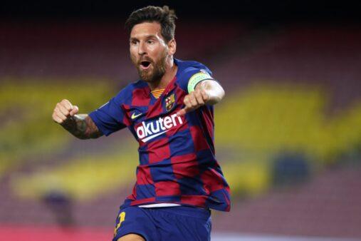 Messi pode jogar no City.