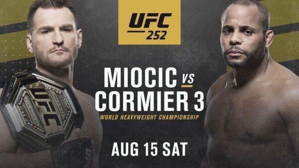 Assistir UFC 252 AO VIVO Miocic vs Cormier