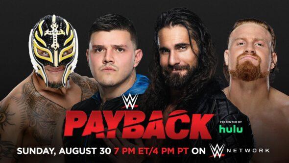 Dominik e Rey Mysterio vs. Seth Rollins e Murphy