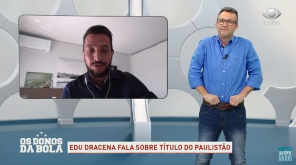 Neto e Edu Dracena em Os Donos da Bola