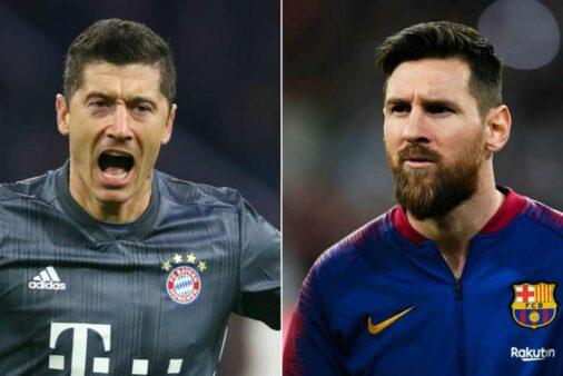 """Lewandowisk se rende a Messi: """"Um dos maiores da história"""""""